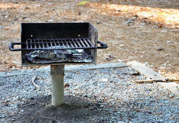 Vidalia Steaks, the park grill.
