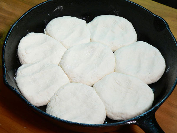 Buttermilk Biscuits, ready to bake.