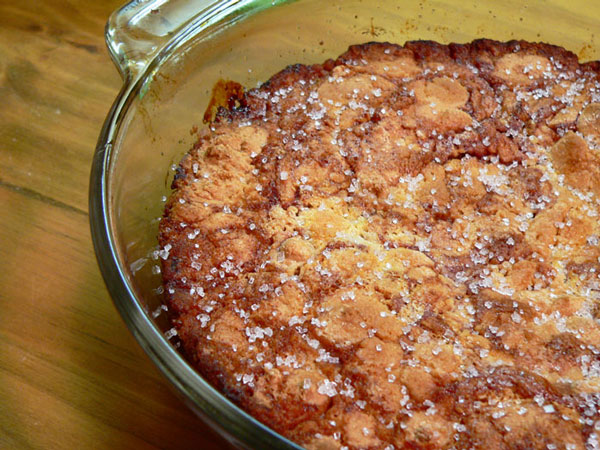 Cheerwine Cobbler, let cool awhile.
