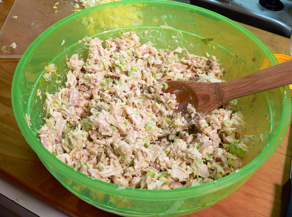 Southern Chicken Salad, stir it well.