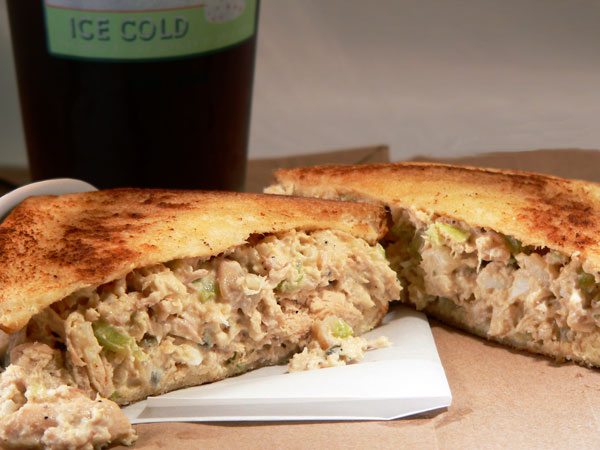 Southern Chicken Salad, serve and enjoy.