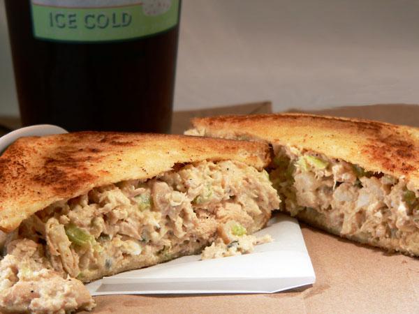 Southern Chicken Salad, serve and enjoy.