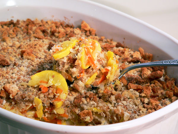 Squash Casserole recipe on Taste of Southern website.