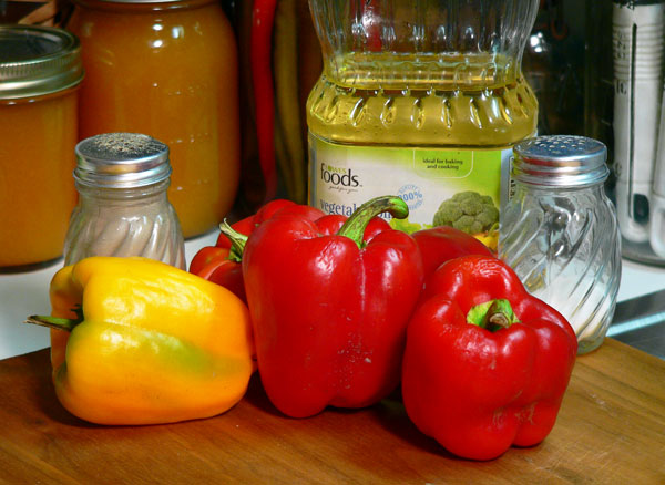 Roasted Peppers, you'll need just a few ingredients.