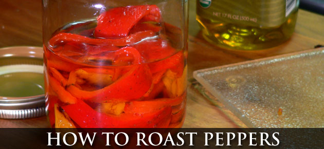 Roasted Peppers, slider.