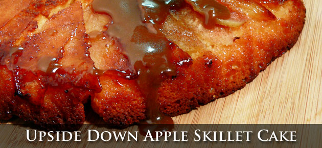 Apple Skillet Cake, slider.