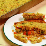 Southern Cornbread Dressing, made from scratch, on Taste of Southern.