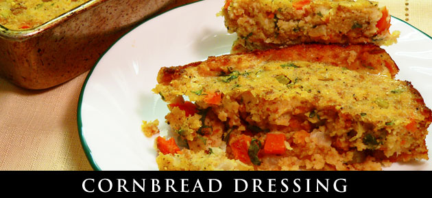 Cornbread Dressing, slider.