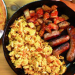 Cornbread and Eggs recipe from Taste of Southern.