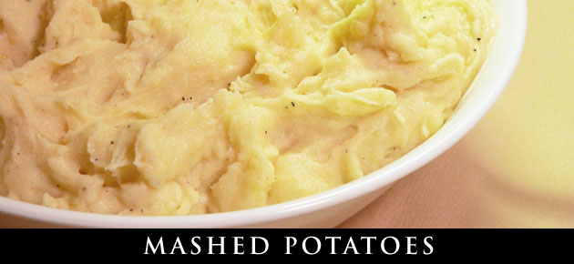 Mashed Potatoes recipe, slider.