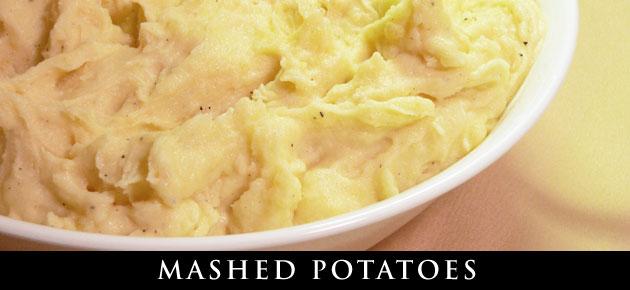 Mashed Potatoes recipe, slider.