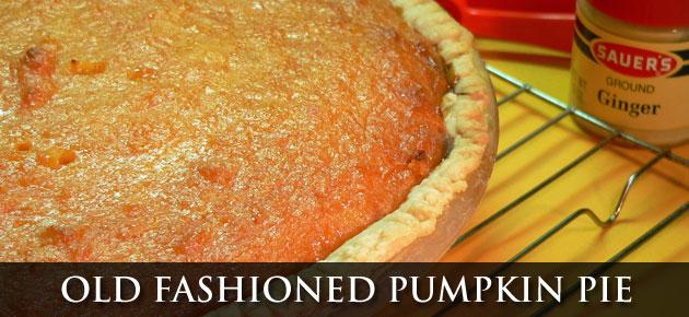 Pumpkin Pie, slider.