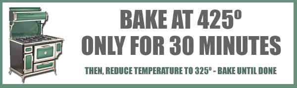 Roast Turkey, baking time and temp.