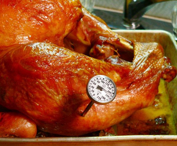 Roast Turkey, check thigh meat.