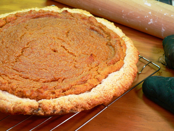 Southern Sweet Potato Pie Recipe, made from scratch.