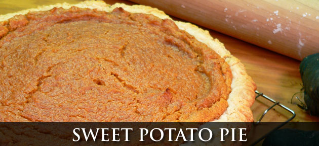 Sweet Potato Pie, as seen on Taste of Southern.