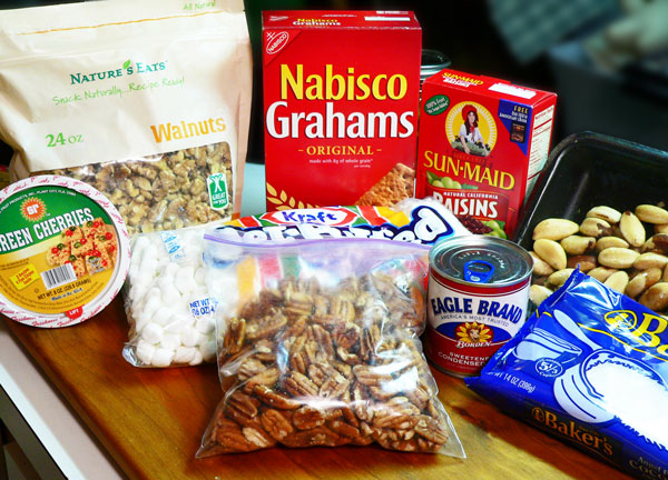 Annie's Fruitcake, you'll need these ingredients.