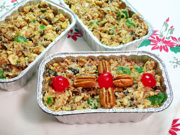 Annie's Christmas Fruitcake as seen on Taste of Southern.