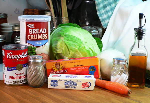 Cabbage Casserole, you'll need these ingredients.