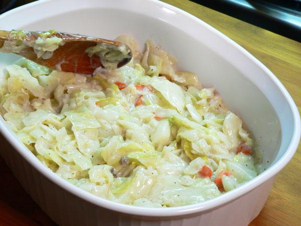 Cabbage Casserole,
