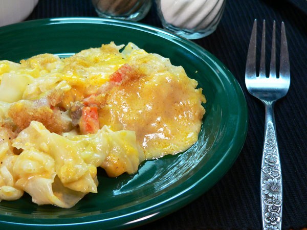 Cabbage Casserole Recipe, as seen on Taste of Southern.com