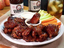 Dimples BBQ Chicken Wings