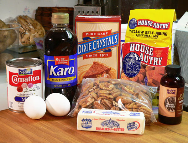 Pecan Pie, you'll need these ingredients.