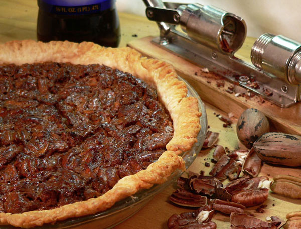 Southern Pecan Pie Recipe, as seen on Taste of Southern.