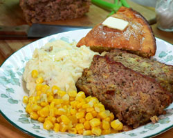 Neese's Sausage-Beef Meat Loaf