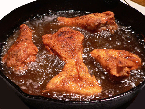 Southern Fried Chicken, uncover again.
