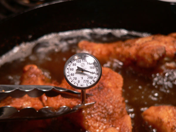 Southern Fried Chicken, don't overcook it.
