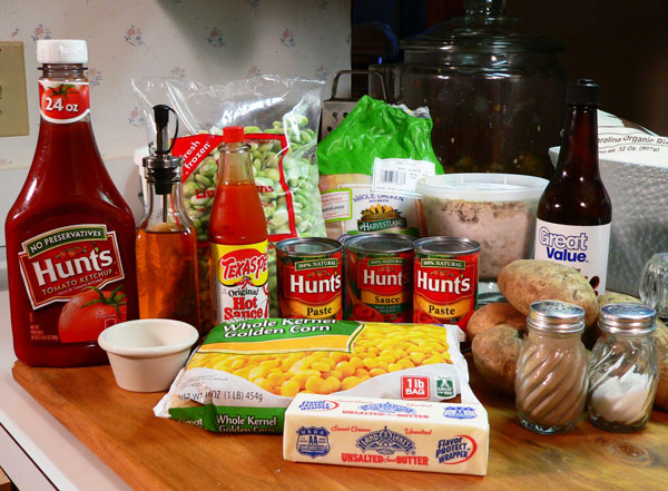 Brunswick Stew, ingredients you'll need.
