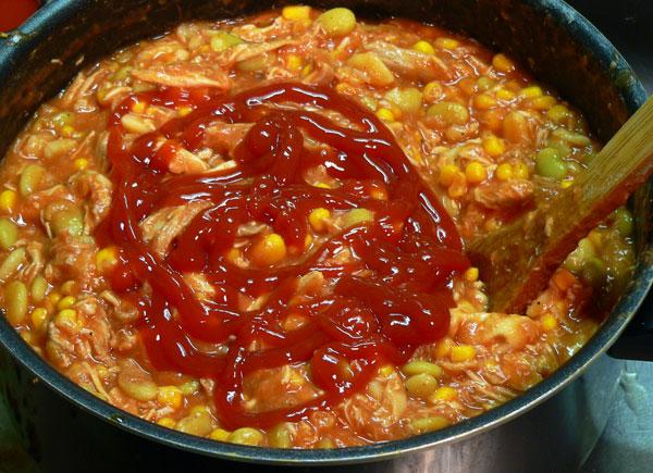 Brunswick Stew, add some catsup.