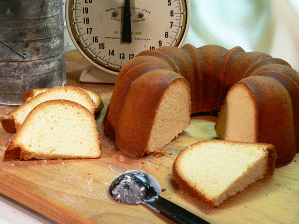 True Pound Cake Recipe as seen on Taste of Southern.
