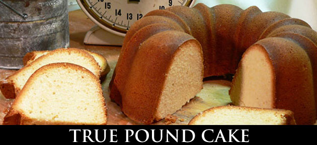 True Pound Cake, slider