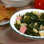 Turnip Greens with Diced Turnips printable recipe as seen on Taste of Southern.com.