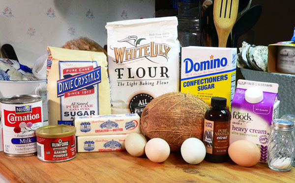 Baker's Coconut Cake, you'll need these ingredients to make it.