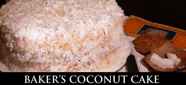 Baker's Coconut Cake, slider.