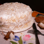 Printable recipe for Baker's Coconut Cake, as seen on Taste of Southern.com.