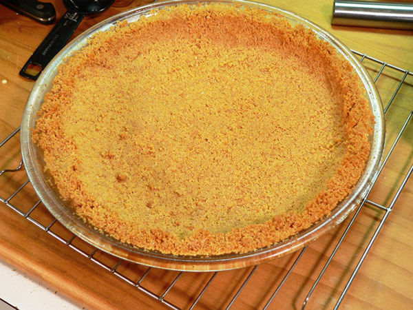 Key Lime Pie, remove from oven and let cool on a wire rack.
