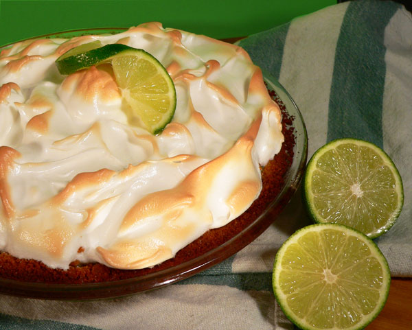Key Lime Pie, enjoy.