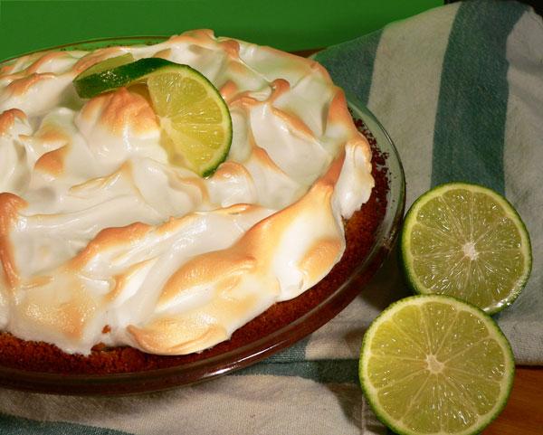 Key Lime Pie, enjoy.