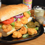 Shrimp Po' Boy Sandwich recipe, from Taste of Southern.com.