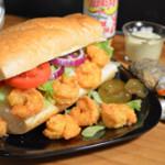 Shrimp Po' Boy Sandwich recipe, from Taste of Southern.com.