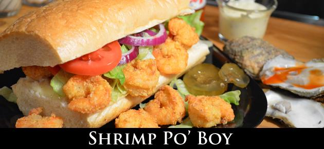 Shrimp Po' Boy, slider
