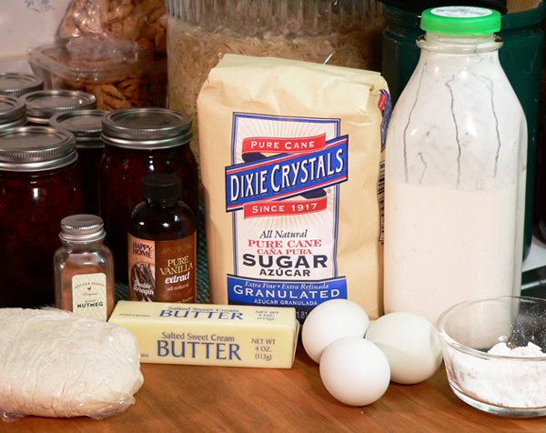 Butter Milk Pie, you'll need these ingredients.