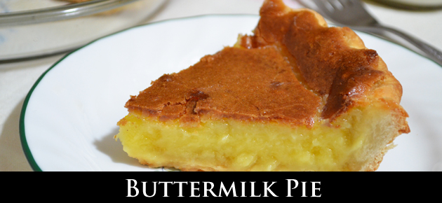 Butter Milk Pie, slider.