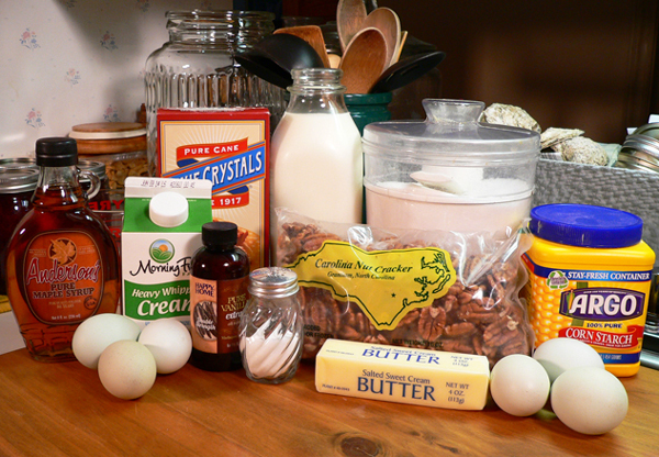 Butter Pecan Ice Cream, you'll need these ingredients.
