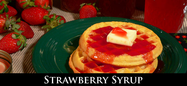 Award Winning Strawberry Syrup recipe, from Taste of Southern.