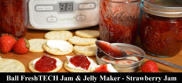 Ball FreshTECH Strawberry Jam, slider.